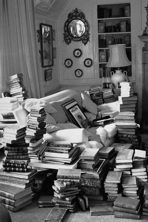 Circondarsi di libri