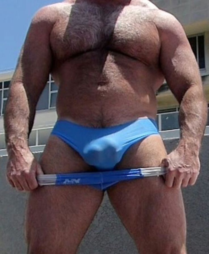 from Russell gay bear huge bulge