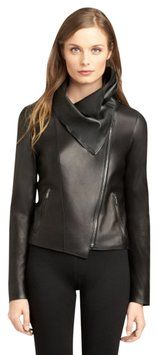 Elie Tahari Melanie Leather Jacket. A best-selling blazer with classic charm! The Elie Tahari Melanie Leather Jacket is almost sold out...See all Elie Tahari jackets on