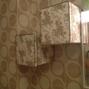 originali-pensili-per-il-bagno con scatole Ikea