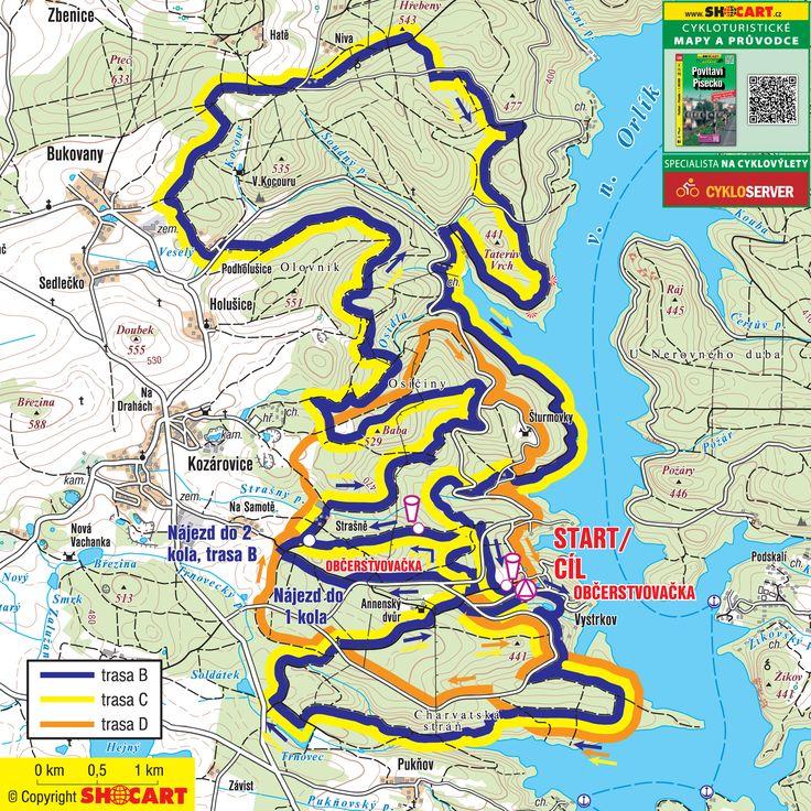 Orlík Tour // Kolo pro život – seriál závodů na horských kolech