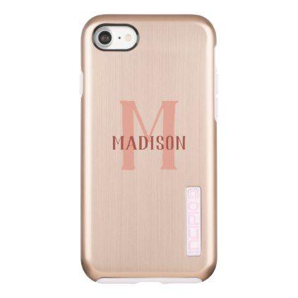Custom Monogram phone cases - stylish gifts unique cool diy customize