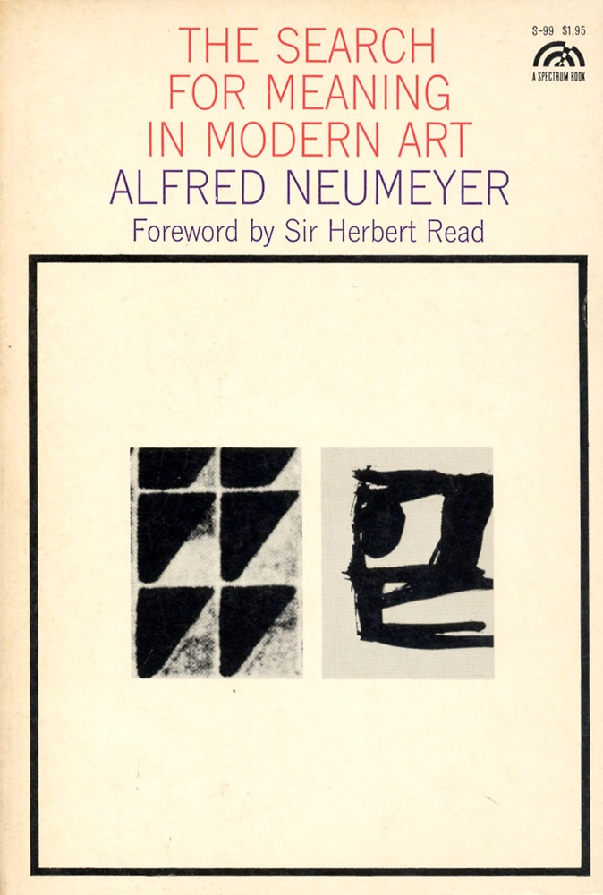 herbert read the meaning of art pdf