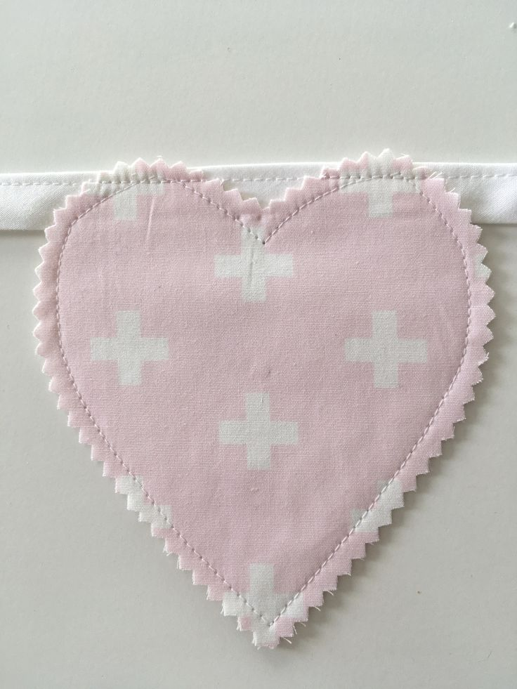 heart decor nursery inpso lovehearts pink and girly