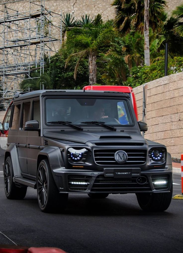Mercedes G-class Gronos by Mansory