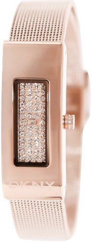 DKNY Rose-Gold-Tone Mesh Bracelet Women's watch #NY2111 DKNY http://www.amazon.com/dp/B00EKPR4HS/ref=cm_sw_r_pi_dp_jFqOtb0W1Y4DH3RA