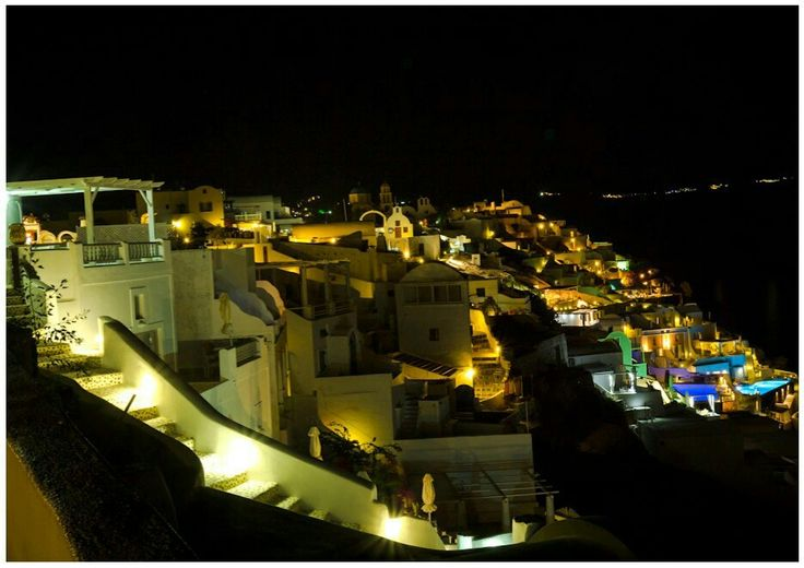Night of Santorini Greece