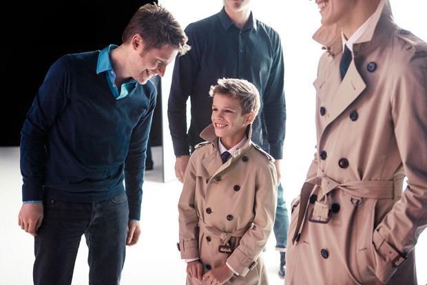 Romeo Beckam modelo de campaña Burberry 2013