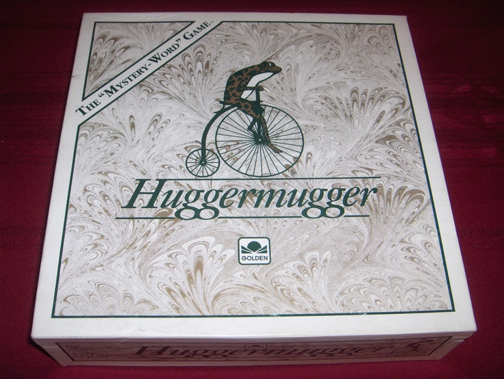 HUGGERMUGGER 1989 The Mystery Word Game from Golden - So much fun!