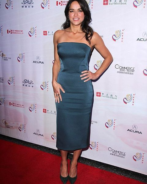 #MichelleRodriguez at #ChineseAmericanFilmFestival 2015 #ChineseAmericanFilm #TheMontalbanTheatre #ChineseFilm #CAFF2015 #CAFF #Furious7