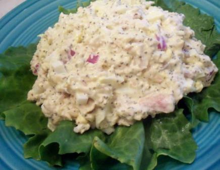 poza salata de ton cu oua