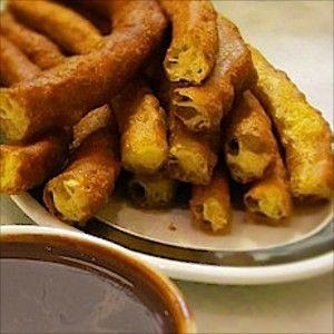 Street Food - Churros in Spain - Food