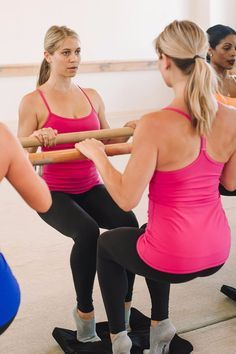 Pin for Later: A Bar Method Instructor Explains Why Your Thighs Can't Stop Shaking in Class