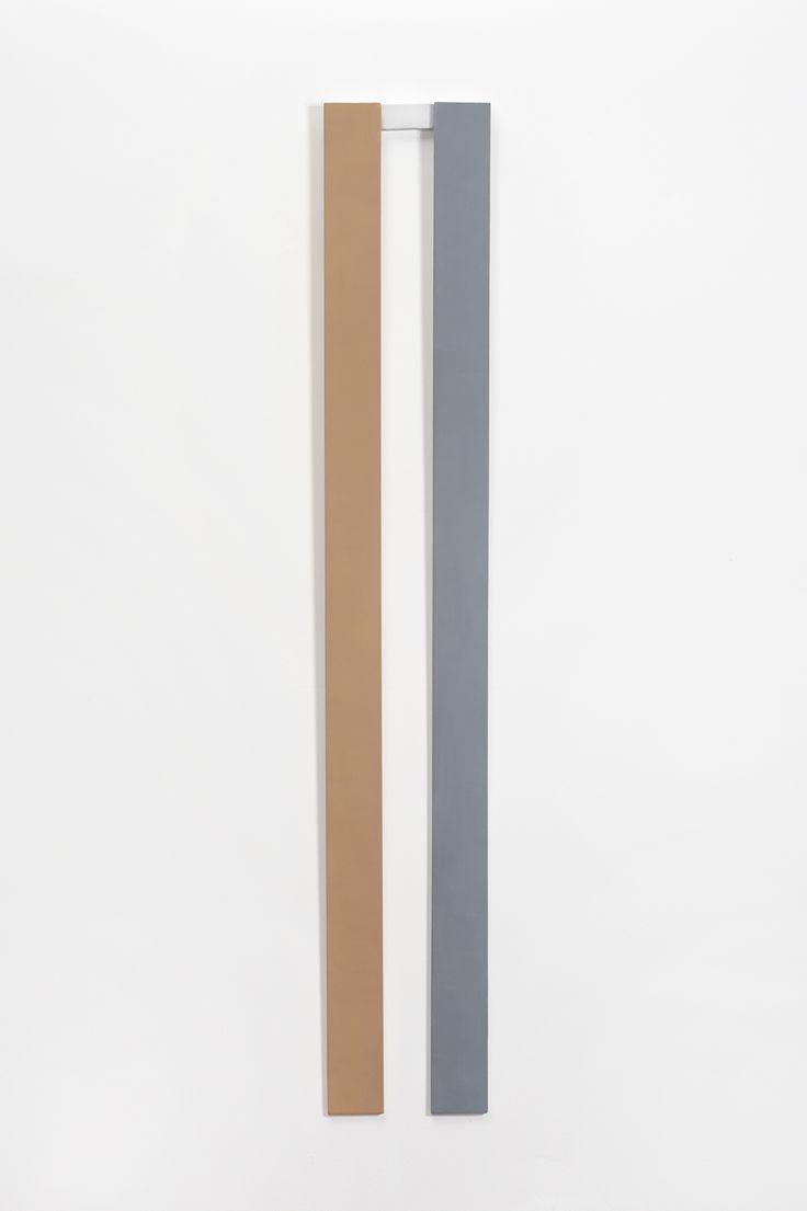Ripa Rude   Sergio Sister 1996  Óleo sobre madeira 170 x 21 cm ( Ripa Rude   Sergio Sister 1996  Oil on wood 170 x 21 cm )