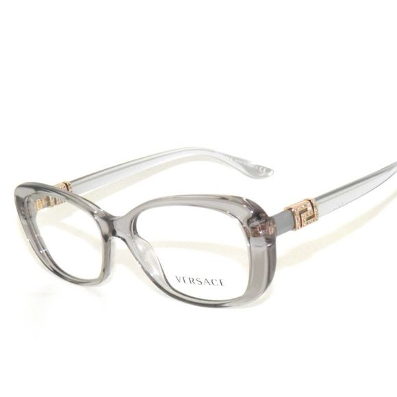 206478c6c7b9 Versace 3234B 3234 593 51 Grey Eyeglasses Sale Versace 3234B 593 51  Transparent Grey Eyeglasses Frame Sale.New without tags comes with Versace  case.