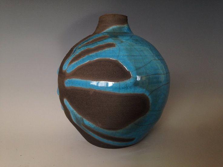 88 Aqua Raku Glaze by Spectrum Glazes