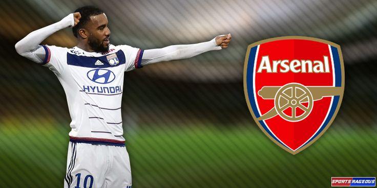 Alexandre Lacazette set for Arsenal transfer news update - http://www.sportsrageous.com/soccer/alexandre-lacazette-set-arsenal-transfer-news-update/41043/
