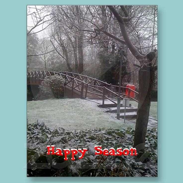 Happy Season Postcard