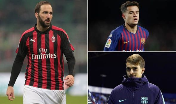 Transfer News Live Higuain To Chelsea Today Coutinho To Man Utd Liverpool Arsenal Chelsea Today Transfer News Liverpool