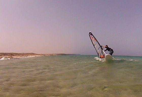 Surf back side like a big boy