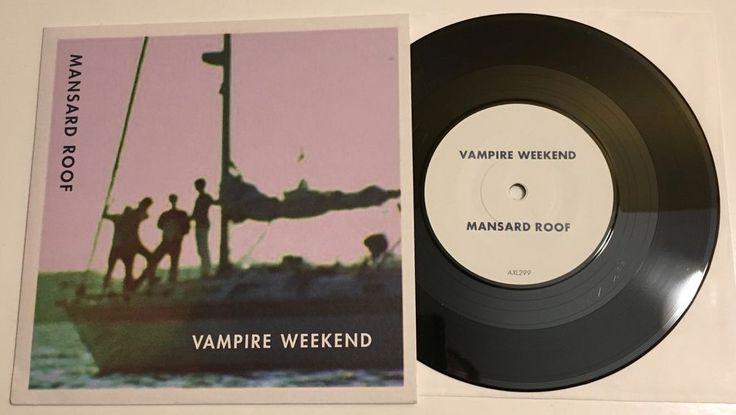 VAMPIRE WEEKEND / Mansard Roof / 45 with Picture sleeve / NM+ #RocknRoll