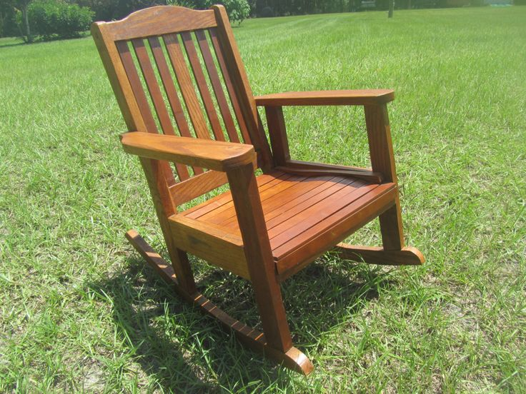 CHAIR, Wood Rocking Chair, Childrens Furniture ,vintage rocking chair ...