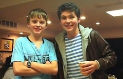 Daniel Furlong and Damian McGinty, both formerly of Celtic Thunder