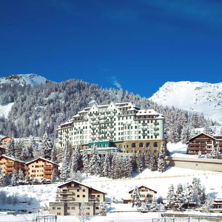 Exquisite Carlton Hotel St. Moritz in Swizterland #hotelinteriordesigns