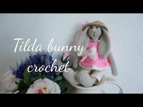 BASIC TILDA BUNNY CROCHET - YouTube