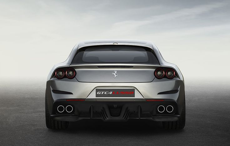 2017 Ferrari GTC4Lusso rear end – the image you will probably see the most on the road.