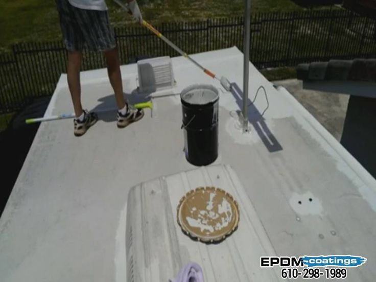 Liquid Roof Is A Liquefied Version Of A Synthetic Rubber Typically Referred  To As EPDM.