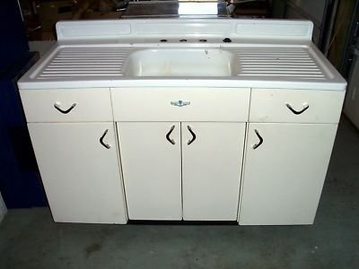 Vintage Youngstown Metal Kitchen Cabinets For Sale