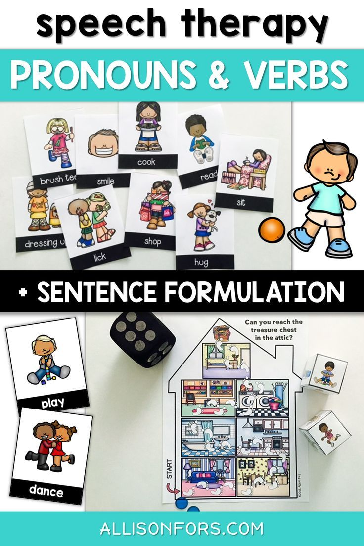 Pronouns Speech Therapy Worksheets Verbs Sentence Formulation Verbs Speech Therapy Verbs Activities Early Intervention Speech Therapy [ 1104 x 736 Pixel ]