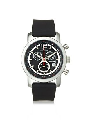 84% OFF Lucien Piccard Unisex 12585-01 Toules Black Silicone Watch
