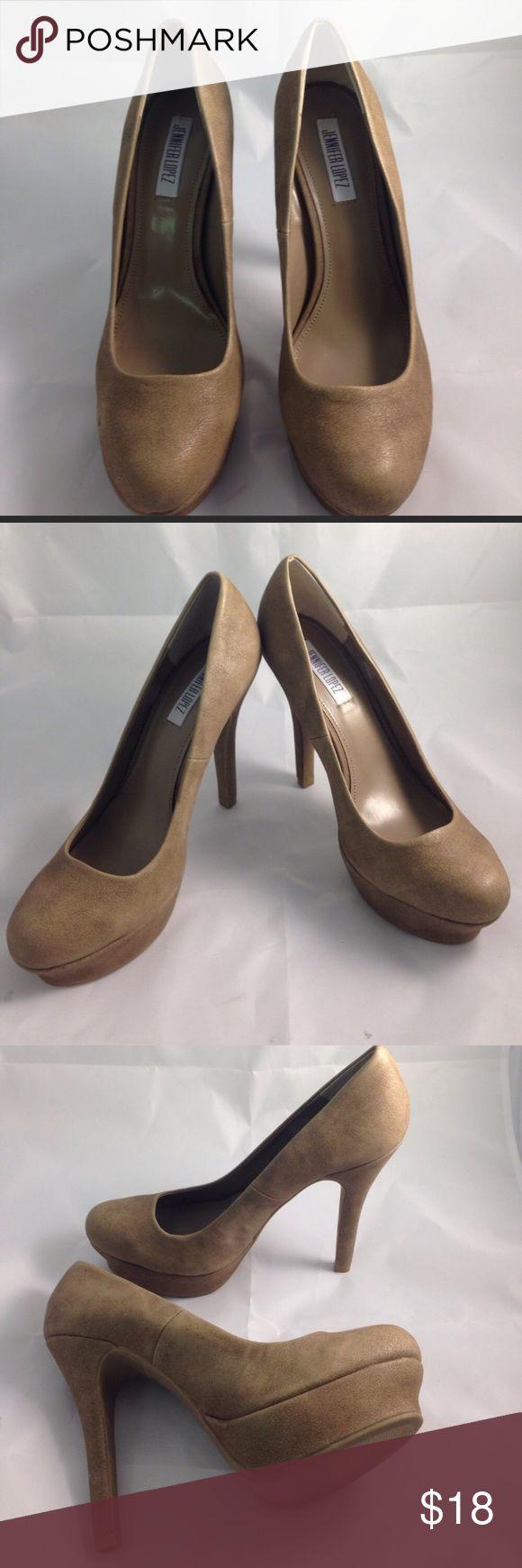 Jennifer Lopez platform heels size 10 Good condition Jennifer Lopez Shoes Platforms
