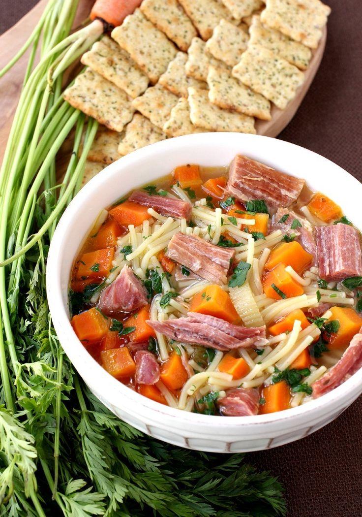 Schinken-Suppe