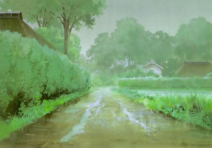 Mi vecino Totoro. My neighbor Totoro. Hayao Miyazaki. 1988