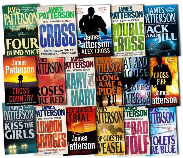 james patterson book  photo | Alex Cross Series Collection James Patterson 17 Books Set Pack Cross ...