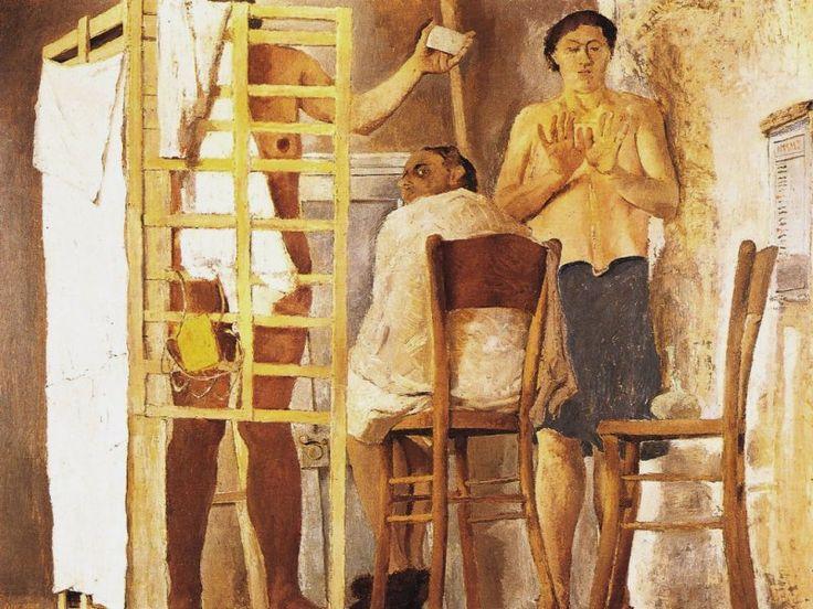Pirandello Fausto, Il bagno, c. 1924