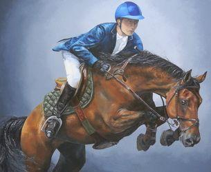 Race, 180x220 cm, oil on canvas