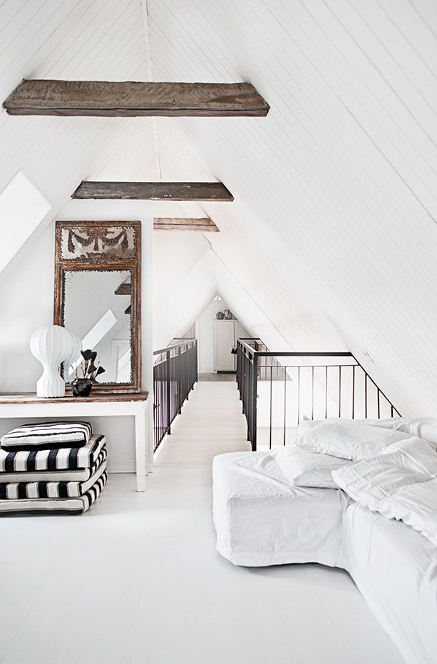 the perfect attic space