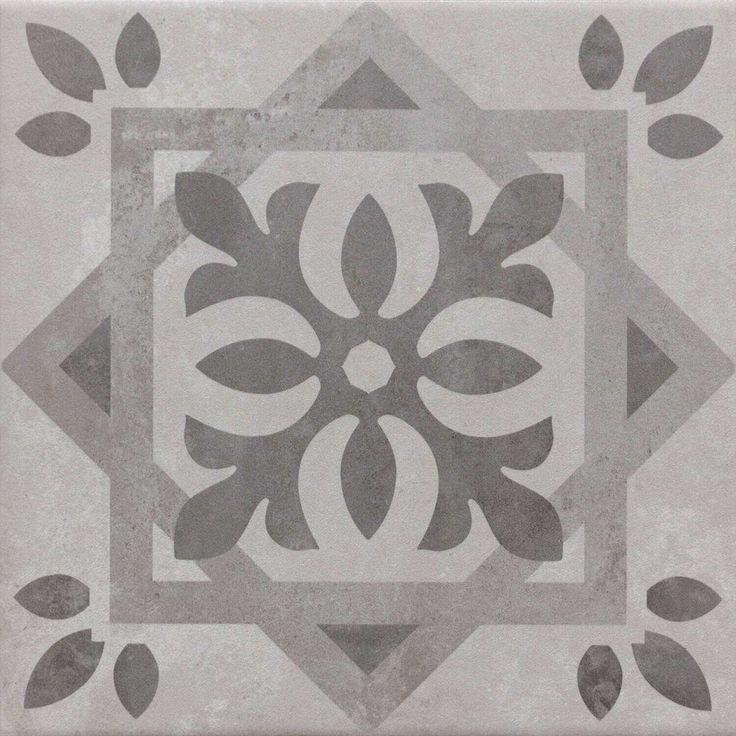 Fliesen mit Muster | Bodenfliesen Grau | Patchwork-Look | Günstig kaufen