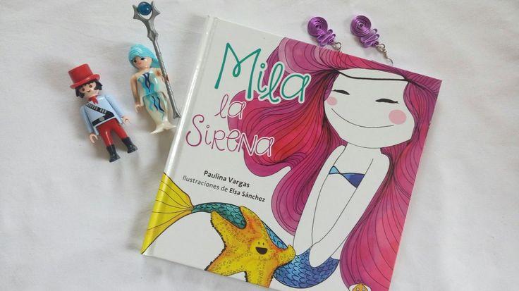 Foto Reseña: Mila la sirena. Un hermoso cuento que nos habla de la belleza interior. @UranitoMexico @UranoMx http://palomitasparaleerunlibro.blogspot.mx/2017/04/foto-resena-mila-la-sirena.html