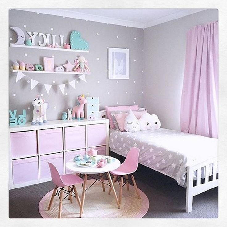 25+ Cute Unicorn Bedroom Ideas For Kid Rooms #bedroomdecor #bedroomdesign #bedro