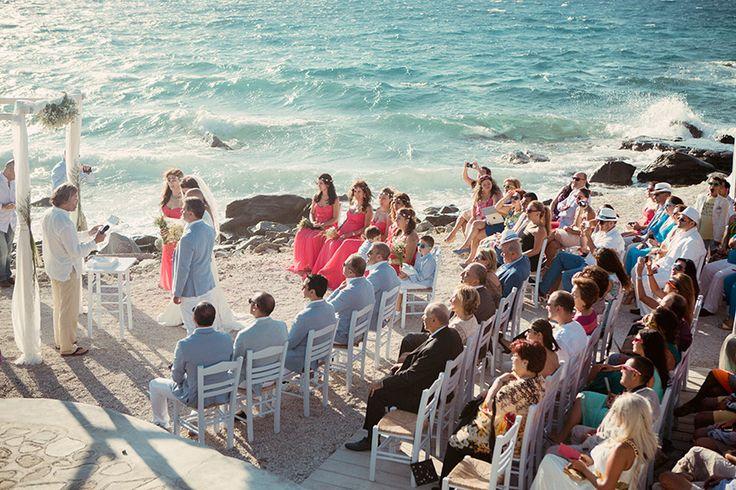 Dream your Wedding in Mykonos  www.mykonos-weddings.com Wedding Ceremony - Exchange of Vows