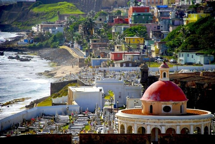 Le vieux San Juan, Porto Rico