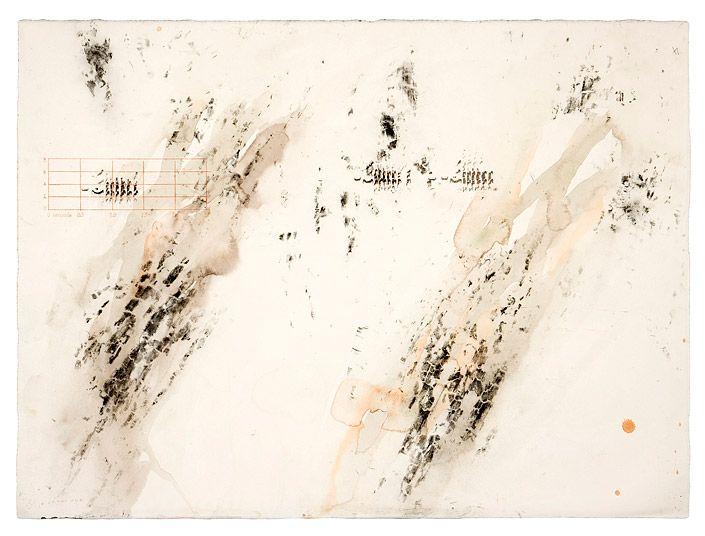 John Wolseley Leaflitter, bark and birdsong - Cobboboonee Forest, 2006/2009 (Detail)