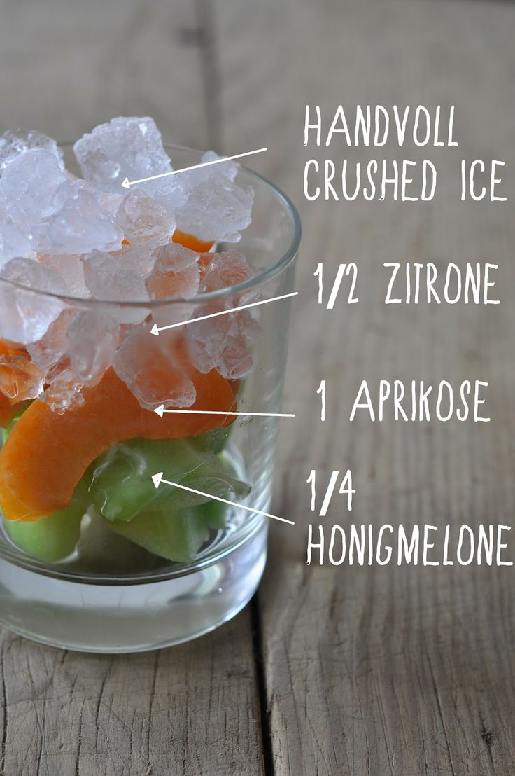 Aprikose Melone Smoothie
