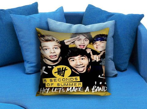 5SOS 5 Second Of Summer Band Pillow Case #pillow #case #pillowcase #custompillow #custom