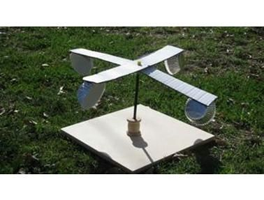 geography for kids   make a weather model   anemometer, rain gauge and wind vane